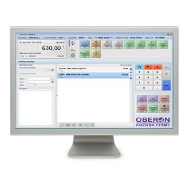 Oberon- sklad, pokladnica (mini licencia)