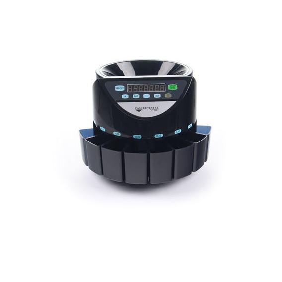 Počítača a triedička mincí - Cash Tester CC 601