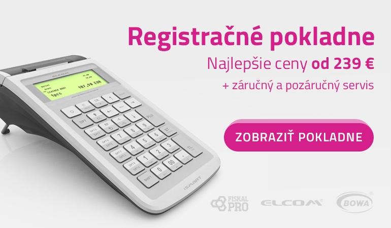 Registračné pokladne